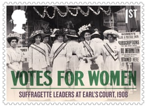 Suffragette Leaders at Earl's Court, 1908