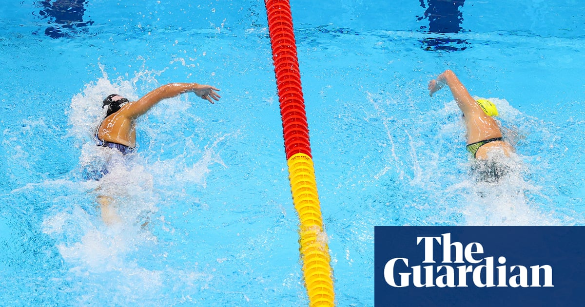 Round one to Ariarne Titmus but duel in the pool with Katie Ledecky continues