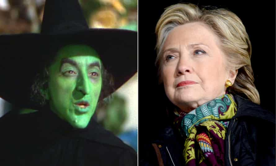 The Wicked Witch of the West and Hillary Clinton