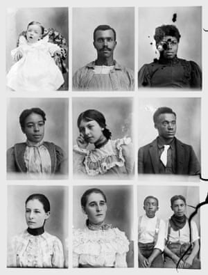 The way the artist's diverse sitters share space is surprising. The laws and customs of Jim Crow were thriving – and black people were resisting – when Mangum was working. Mangum's glass plate negatives tell a nuanced account of this history, one that affords more agency to people of colour than the average textbook