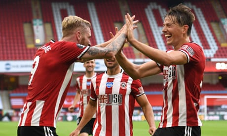 Sheffield United sweep Tottenham aside to revive hopes of Europe