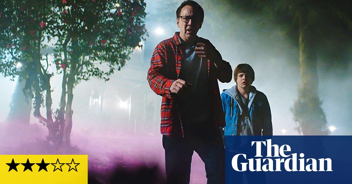 Color Out of Space review – Nicolas Cage goes cosmic in freaky sci-fi horror