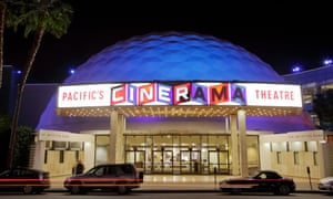 The Cinerama Dome theatre on Sunset Boulevard in Los Angeles. An SEC filing showed the company borrowed $5m to keep the service running.