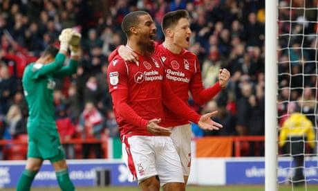 Grabban punishes Bogle howler as Nottingham Forest beat rivals Derby