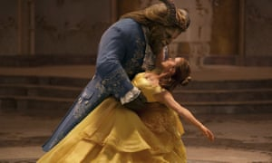 Monster's ball … Dan Stevens and Emma Watson in Beauty and the Beast.
