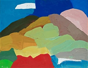 Untitled (c1995) by Etel Adnan.