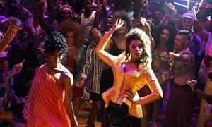 Blanca (MJ Rodriguez) and Lulu (Hailie Sahar) in Pose.