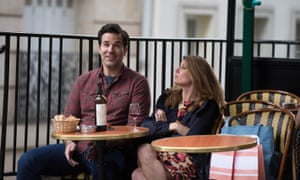 Rob Delaney and Sharon Horgan as Rob and Sharon in Catastrophe.