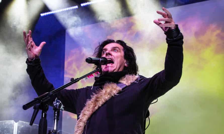Steve Hogarth fronting Marillion at Royal Concert Hall Glasgow.
