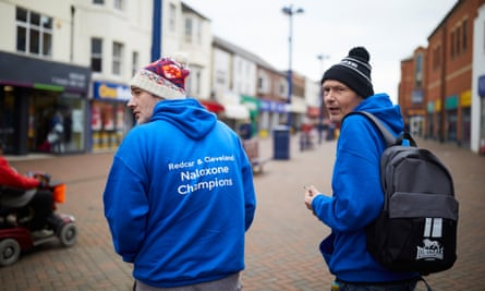 Jimmy and Andy hit the streets of Redcar