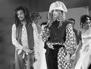 Vivienne Westwood/ World's End Fashion Show at Olympia, London on 23 October 1981.