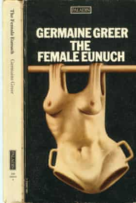 1960s UK The Female Eunuch by Germaine Greer Book CoverEXR1XF 1960s UK The Female Eunuch by Germaine Greer Book Cover