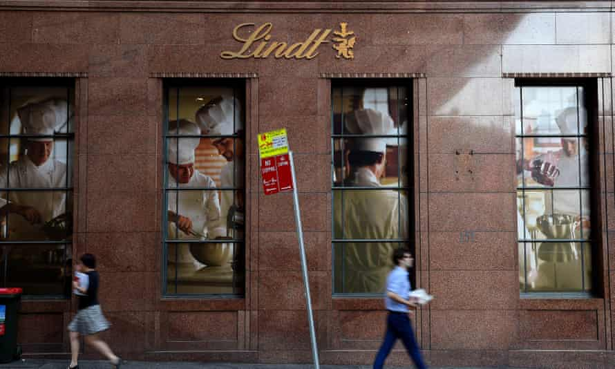 The Lindt cafe in Sydney's Martin Place