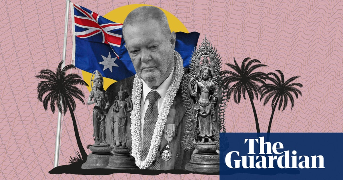 How artefacts linked to indicted dealer ended up in Australian galleries