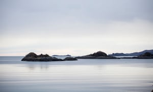 Not a ripple … Loch nam Uamh.