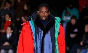 The Balenciaga show as part of Paris fashion week