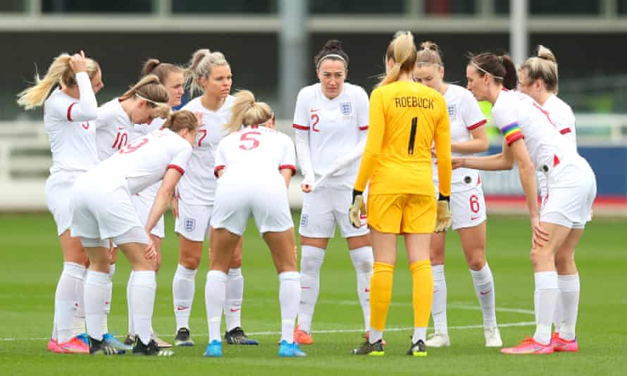 England's team that played Northern Ireland at St George's Park was all-white.