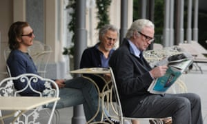 Paul Dano, Harvey Keitel and Michael Caine in Youth.