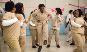 (Left to right): Adrienne C Moore, Lorraine Toussaint, Uzo Aduba and Danielle Brooks in a scene from Netflix's Orange is the New Black season two.