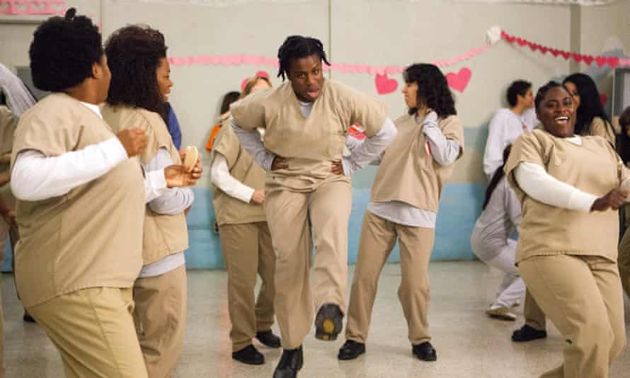 Breakout role … as 'Crazy Eyes' in Orange Is the New Black.