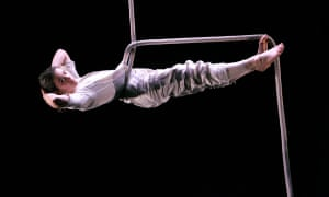 Matilda Leyser in Line, Point, Plane at the Linbury Studio, Royal Opera House, in 2006.