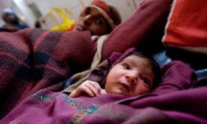 A maternity ward in Madhya Pradesh