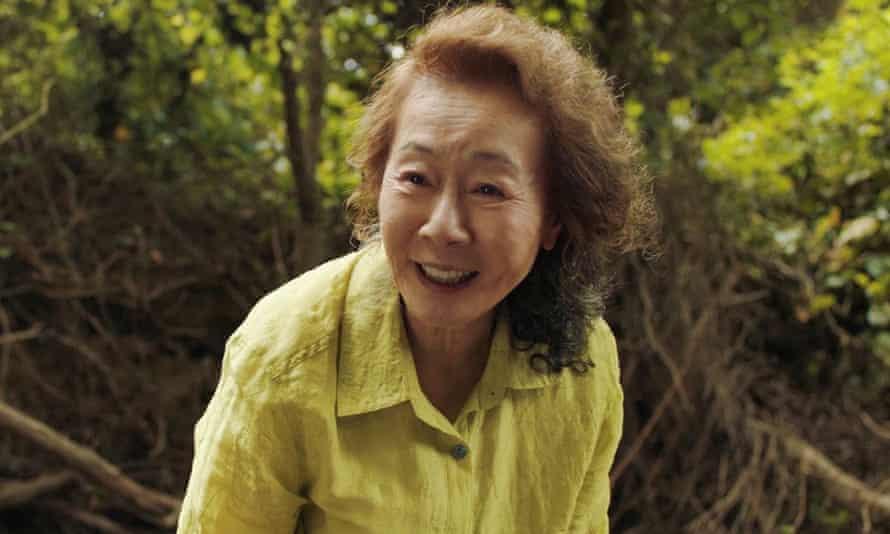 Youn Yu-jung in Minari.