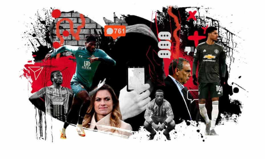 Racism and toxic social media in football