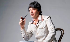 Arj Barker asks his audience to get inside his head