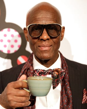 Dapper Dan at the Business of Fashion Voices summit.