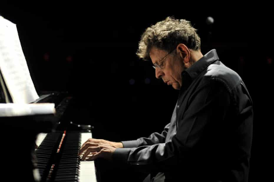 'I felt I had no choice but to be a performer': Philip Glass.