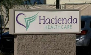The woman, in a vegetative state after a near-drowning, was a patient at Hacienda Healthcare.