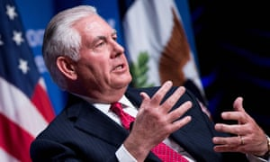 Rex Tillerson said that Russia would continue to face sanctions unless Ukraine's sovereignty and territorial integrity were restored.