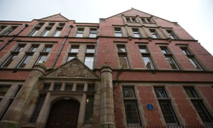 The Rutherford Building, University of Manchester.