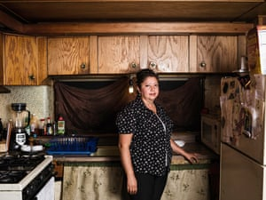 'I stayed 33 years in this trailer,' Fonseca says of the small plot she shares with her husband, a waiter at Reposado, a high-end Mexican restaurant in downtown Palo Alto. She moved to Buena Vista from Mexico City with her parents when she was 14, and has watched its transformation from all Caucasian seniors to 90% Hispanic parents with their children. The park now houses 10% of all the Hispanic people living in Palo AltoBlanca