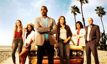 The cast of Rosewood: not necessarily telling an African-American story.