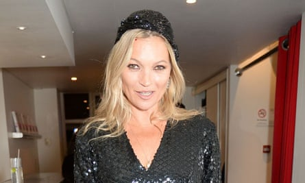 'I'm very low maintenance with hair' … Kate Moss.