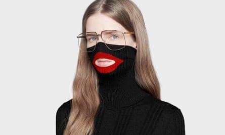 The Gucci balaclava jumper, which has been withdrawn from sale.