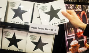 David Bowie's new album Blackstar has reached the top of the Billboard charts.