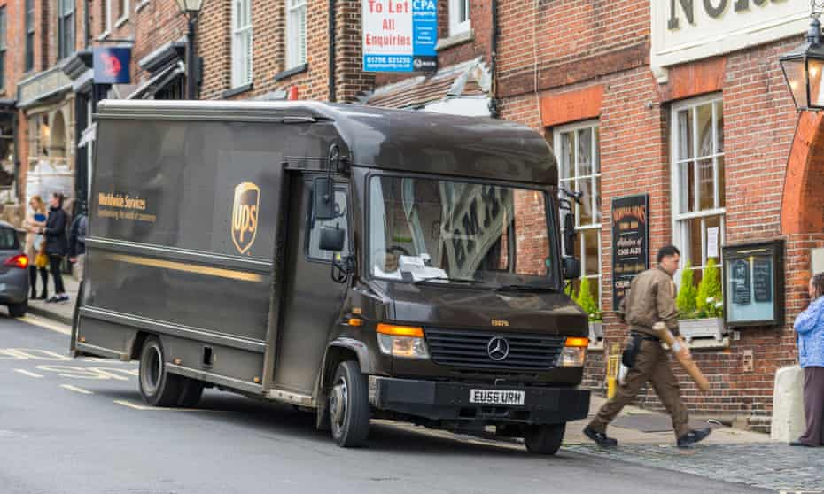 'The life of a UPS driver is governed by a concept known in the trade as density ...'