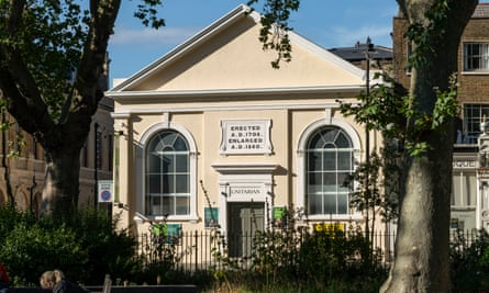 Newington Green Unitarian church, associated with thinkers such as Thomas Paine, David Hume and Mary Wolstonecraft, has been renovated.