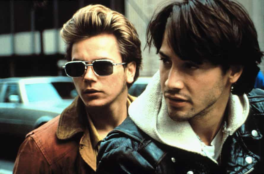 River Phoenix and Keanu Reeves in 1991's My Own Private Idaho.