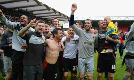 Almunia, Deeney and the 18 seconds that led to Watford ecstasy | Ben Fisher