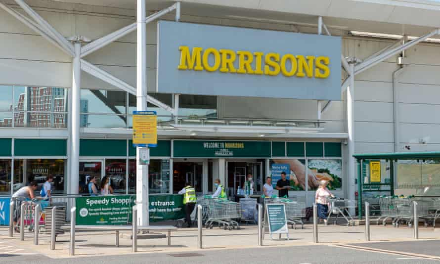 The Morrisons board defended its pay policy at its AGM in Bradford.