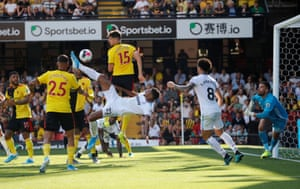 Sébastien Haller scores his second goal with an overhead kick to seal the points as West Ham beat Watford 3-1 at Vicarage Road. West Ham are the first club to have had 150 different goal-scorers in the Premier League, following Haller's first goal for the club.