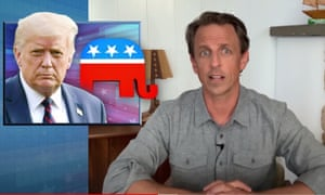 Seth Meyers on Mitch McConnell saying the election will occur as scheduled: 'Just because the bar is all the way on the floor doesn't mean we have to give him credit for stepping over it.'