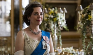 Olivia Colman as Queen Elizabeth II in the third season of The Crown – nominated for four Golden Globes including best television drama series