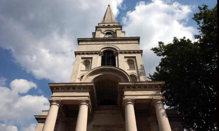 Christ Church Spitalfields, completed in 1729.