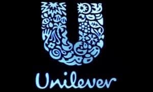 The company logo for Unilever