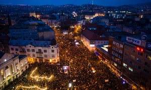Thousands in rally in Bratislava